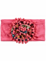 Mimi & Maggie Happiness Collection Flower Squares Headband