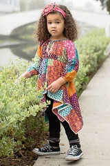 CLEARANCE - Mimi & Maggie Happiness Collection Twirling In The Flowers Dress