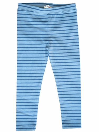 Mimi & Maggie Indigo Skies Blue Lighthouse Stripe Leggings