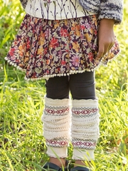 Mimi & Maggie Mountain Flowers Collection Earth Flowers Skirt