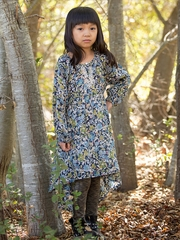 Mimi & Maggie Mountain Flowers Collection Nature Girl Dress