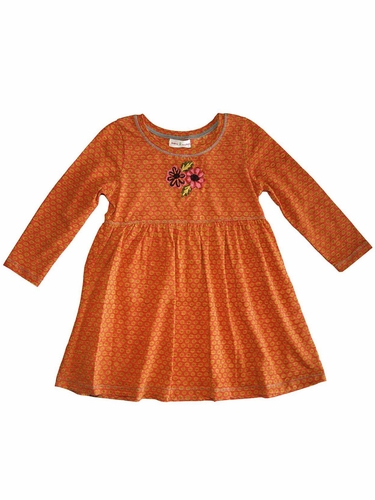 Mimi & Maggie Orange Piano Lessons Dress