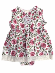 FLASH SALE - Mimi & Maggie Provence Collection Freshly Picked Pink Flowers Dress