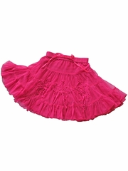Mimi & Maggie 'Romantic Roses' Hot Pink Skirt