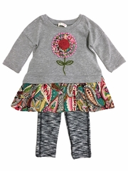 Mimi & Maggie Venice Canals Babies Collection Pasadena Dress & Legging