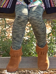 Mimi & Maggie Venice Canals Collection Olive Dailies Legging