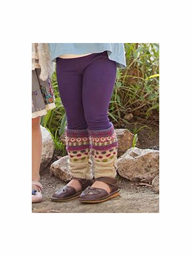Mimi & Maggie Whispering Forest Collection Scrunchy Fairlisle Leggings