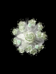 Mint Small Round Flower Bouquet