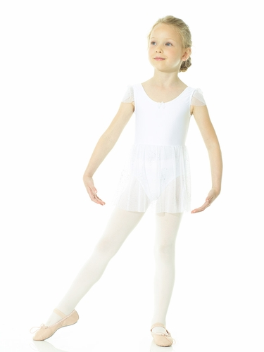 Mondor Ballerina Snow Queen White Leotard