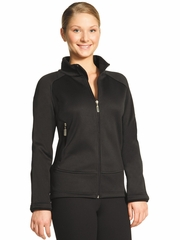Mondor 04730 Black Microfiber Fleece Fitted Jacket