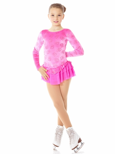 Mondor Born to Skate Heart Mesh Skirt Dress