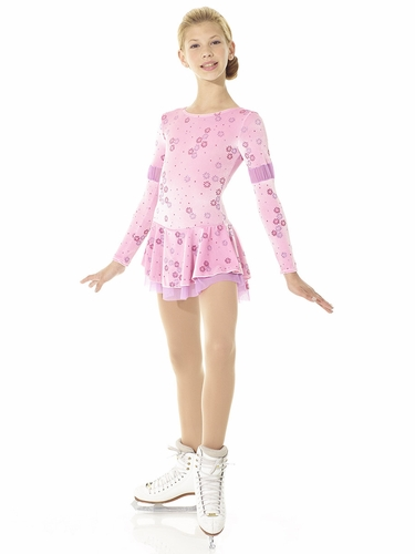 Mondor Born To Skate Pink Mist Little Flower Dress