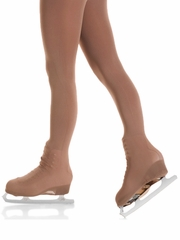 Mondor Brown Boot Cover Tights w/ Buckles