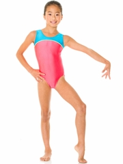 Mondor Goji Tank Leotard w/ Combination of Neon Colors