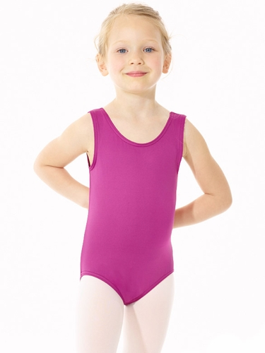 Mondor Hot Pink  Essentials Tank Leotard