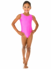 Mondor Hot Pink Tank Leotard