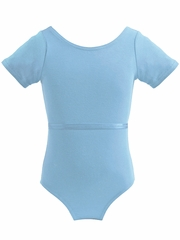Mondor Light Blue Royal Academy of Dance Short Sleeve Leotard
