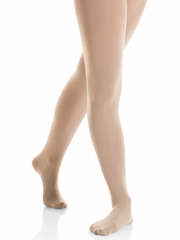 Mondor Light Tan Performance Footed Tights
