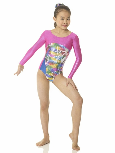 Mondor Multi Metal Long Sleeve Leotard