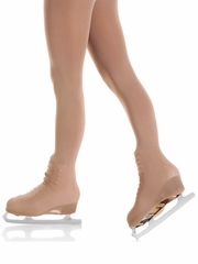 Mondor Suntan Boot Cover Tights w/ Buckles