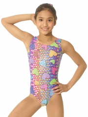 Mondor Sweetheart Tank Leotard