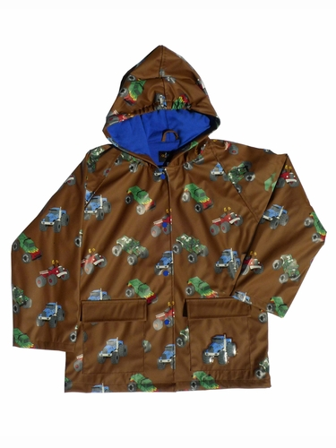 Monster Truck Raincoat
