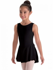 Motionwear Black Tank Skirted Leotard