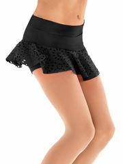 Motionwear Broadway Baby Black Circle Skirt Skort