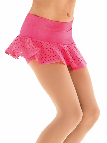 Motionwear Broadway Baby Hot Pink Circle Skirt Skort