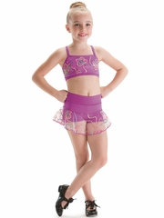 Motionwear Catalina Radiant Orchid Circle Skirt Skort