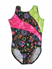 Motionwear Flippin Sweet Gym Curvy Sunray Tank Leotard