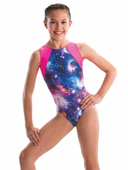 Motionwear Galaxy Gym Cloverleaf Leotard