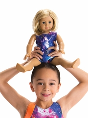Motionwear Galaxy Gym Tank Bear/Doll Leotard