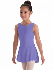 Motionwear Lilac Tank Skirted Leotard