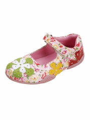 Multi- Color Floral Embroidered Shoes