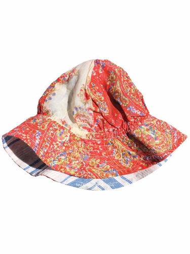 Multicolor Mimi & Maggie Tuscan Village Collection Sunblock Hat
