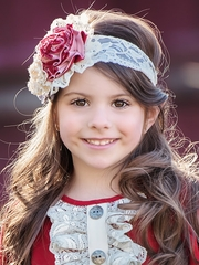 Multicolor Persnickety Candy Cane Collection Erin Headband