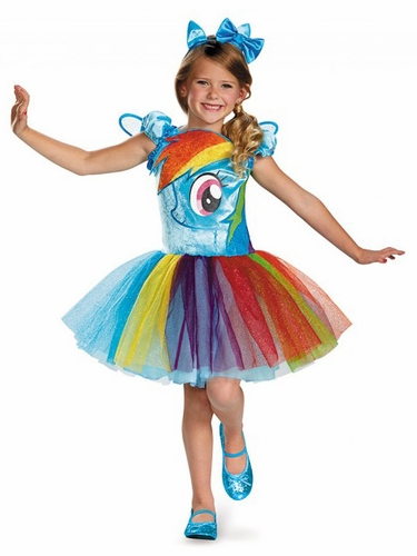 My Little Pony Rainbow Dash Tutu Prestige Costume
