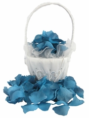 Navy Blue Rose Petals