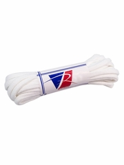 """Riedell White Textured Polyester 72"""" Laces"""