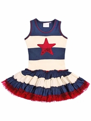 Ooh! La La! Couture 4th of July Dress
