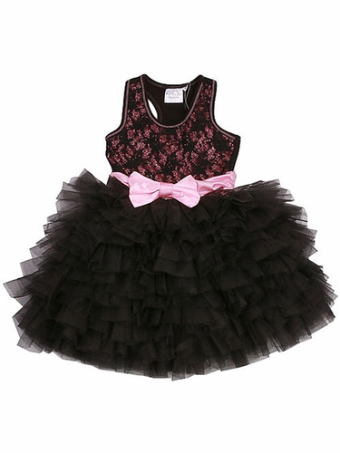 Ooh! La La! Couture Black Lace WOW Dress