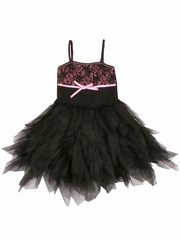 Ooh! La La! Couture Black Lace WOW Emma Dress