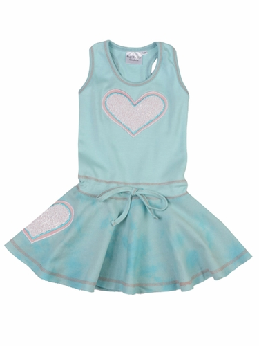 Ooh! La La! Couture Blue Ice Heart Dress