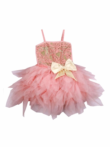 Ooh! La La! Couture Blush & Champagne WOW Emma Dress