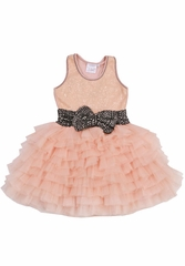 CLEARANCE - Ooh! La La! Couture Blush Coco Bow Dream Dress