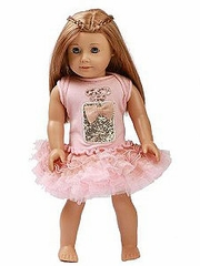 Ooh! La La! Couture Blush Perfume Birthday 18� Doll Dress