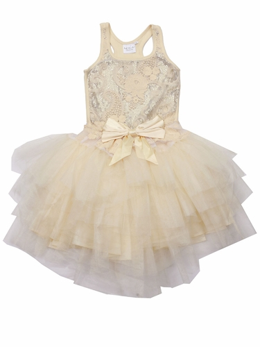 Ooh! La La! Couture Champagne Wow Ava Dress