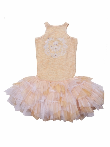 Ooh! La La! Couture Heather Crazy Honey Dress