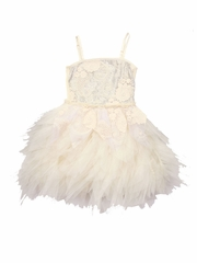 Ooh! La La! Couture ivory/Champagne WOW Emma Dress